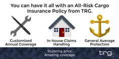 You can have it all with an All-Risk Cargo Insurance Policy from Trade Risk Guaranty.