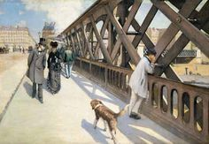 Le Passant pas toujours anonyme - ©Gustave Caillebotte - 1848 1894