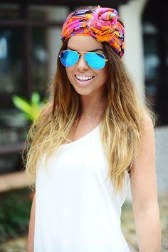 Fashion Essentials: Summer Scarf // Stylist Melanie Pace