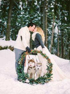6 способов подчеркнуть зимний образ невесты