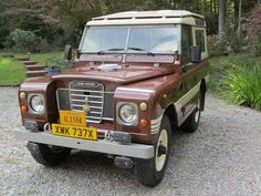 1982 Land Rover Series III County - older restoration, soon to arrive!