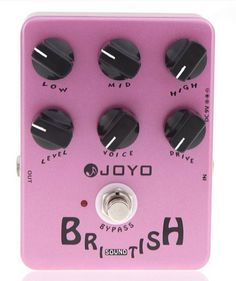 Jf-16 British Sound Amp Sim Violao Guitar Guitarra Parts Effect Pedal For Musical Instrument Electronic ^^ Quickly view this special  product, click the image : Musical Boxes and Figurines