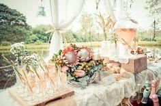 Cute bridal shower/kitchen tea idea
