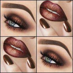 makeup pictures makeup with red dress makeup korean eye makeu. - Eye make-up - Lip Makeup, Makeup Tips, Beauty Makeup, Makeup Art, Makeup Ideas, Drugstore Makeup, Makeup Products, Huda Beauty, Witch Makeup