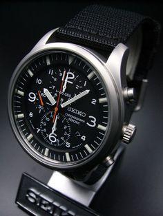 Watches Wanted — Seiko Military Chronograph SNDA57P1 - $140