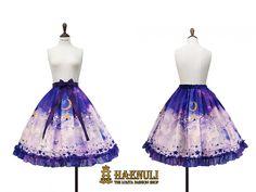 Planetary Dreamer skirt /// $190 /// S(SM): waist 66-91cm L(LXL): waist 88-114cm