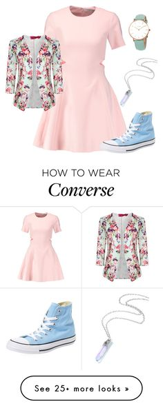 """Untitled #957"" by twisted-magic on Polyvore featuring Elizabeth and James, Boohoo, Converse and CLUSE"