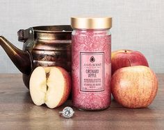 Orchard Apple Aroma Beads at JewelScent.com.  Smells like fresh cut apples or fresh cider! Perfect for fall!  Can be used in cars, bottoms of a garbage can, or even in a vacuum cleaner :) Aroma Beads, Candle Rings, Jewelry Candles, Luxury Candles, Air Freshener, Soy Candles, Scented Candles, Smell Good, Aromatherapy