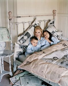 Madonna with Rocco and Lourdes. Photo by Tim Walker.