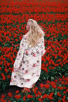 The ultimate floral mashup by Lukasz Wierzbowski. #fashion @pixiemarket #pixiemarket