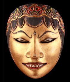 MASCASIA Photo de face : Panji - Région : Indonésie-Java-yogyakarta