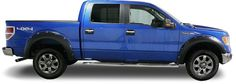 FREE SHIPPING on True Edge 2015-UP  F150 Fender Flares part # FLZ209317! True Edge F150 fender flares are available painted or unpainted
