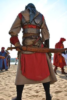 oriental larp armor