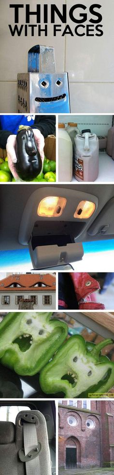 I cant believe someone else sees faces in ordinary things too! Ive looked for…