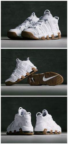 brand new ecbe5 e84f2 Nike Air More Uptempo  White Gum Sole Trees designs high quality premium  shoe trees