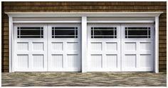 We At Long Island Garage Door Repair, Install & Service Garage Doors in Long Island & The New York area. We Repair Broken Garage Door Springs Cables & Openers. Garage Door Trim, White Garage Doors, Garage Door Windows, Wooden Garage Doors, Overhead Garage Door, Garage Door Makeover, Garage Door Design, Garage Door Repair, Car Garage