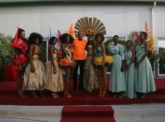 President Martelly@ Carnaval Des Fleurs Haiti 2014