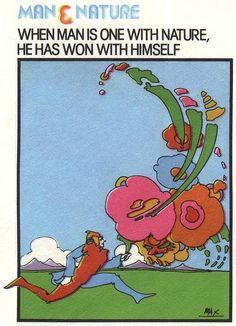 Man & Nature - Peter Max by Astronit, via Flickr