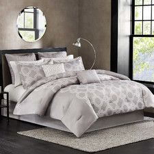 bastille reversible quilt cover set
