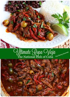 ropa vieja cuban national dish recipe authentic best