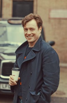 "Toby Stephens, Maggie Smith's son. Played Mr. Rochester in ""Jane Eyre."""