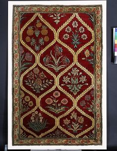 Carpet      Place of origin:      Kashmir, India (possibly, made)     Lahore, Pakistan (possibly, made)     Date:      ca. 1650 (made)