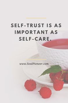 Honoring yourself through self-care, but also self-trust. Its not enough just to cultivate a positive body image and mindset. Lets practice self-love by trusting ourselves. Read more at https://soulpioneer.com/what-if-you-started-trusting-yourself-impeccably/