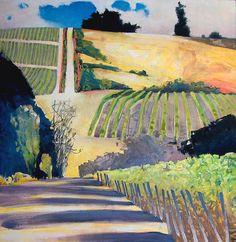 Randall David Tipton  Cristom Vineyard oil 24x24