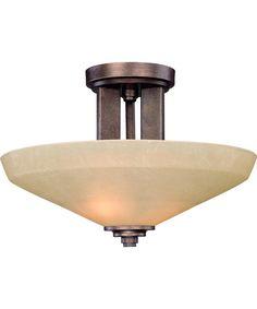 Dolan Designs 2705 Sherwood 16 Inch Semi Flush Mount | Capitol Lighting 1-800lighting.com