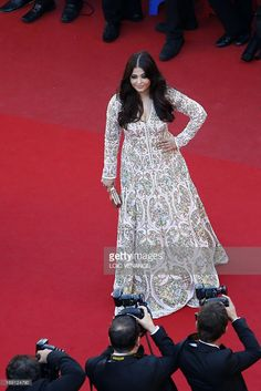Indian actress Aishwarya Rai poses on May 20, 2013 as she arrives for the screening of the film 'Blood Ties' presented Out of Competition at the 66th edition of the Cannes Film Festival in Cannes. Cannes, one of the world's top film festivals, opened on May 15 and will climax on May 26 with awards selected by a jury headed this year by Hollywood legend Steven Spielberg.