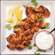 LIVE+GOOD DAILY MODIFICATION for Paprika Chicken Marinated in Yogurt Recipe...use low fat or no fat greek yogurt - not full fat yogurt.  www.livegooddaily.com