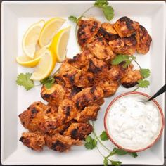 Paprika Chicken Marinated in Yogurt Recipe