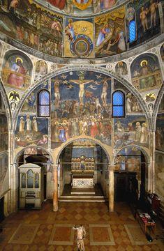 Ciclo di affreschi del Battistero della Cattedrale