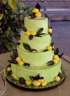 Lovely lime lemon cake