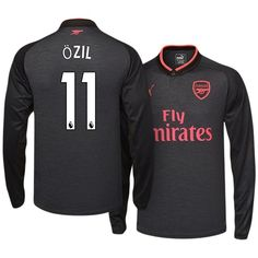 Arsenal Shirt Third 2017-18 LS OZIL