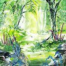 Encaustic art Louise Moore