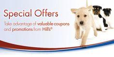 Hills Advantage Pet Food Coupons & Free Samples