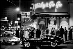 Whiskey a Go Go on Sunset - 1964 by Julian Wasser (Johnny Rivers)