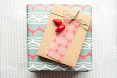 Packing Paper – 3 sheets of double-sided wrapping paper – a unique product by evaenanne on DaWanda
