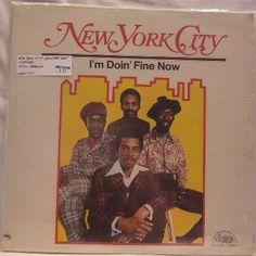 New York City ~ Im Doin Fine Now SS LP