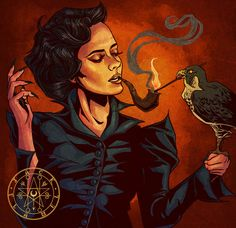 Miss Peregrine's home for peculiar. Miss Peregrine. Tim Burton Art, Tim Burton Films, Miss Peregrine's Peculiar Children, Peregrine's Home For Peculiars, Miss Peregrines Home For Peculiar, Fanart, Smoke Art, Tattoo Project, Penny Dreadful