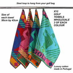Luxury Cotton Golf Towels Wholesale Listing in the Towels,Golf Accessories,Golf,Sporting Goods Category on eBid United Kingdom Golf Day, New Golf, Golf Towels, Golf Accessories, Golf Carts, United Kingdom, The Unit, Balls, Cotton