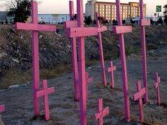 Juárez, México. All women, all murdered. It keeps going on. :'(