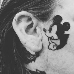 Mickey Mouse Tattoo,  from Asher Vallen, Herman Vallen , New Plymouth, New Zealand