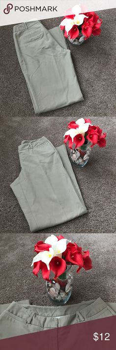 Khaki Dress Pants Khaki dress pants | 4 pockets | Only the two in front can be used for storage | Very comfy pants | Curvy Fit Worthington Pants