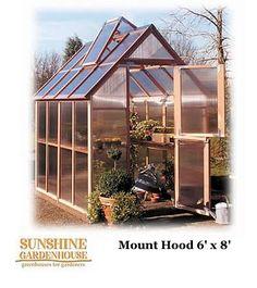 USE:  Sunshine GardenHouse  6 Wide