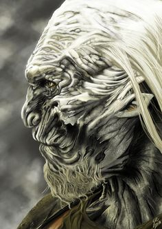 White Walker [Marcheur blanc] Game Of Thrones by masteryue.deviantart.com on @deviantART___©___!!!!
