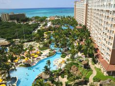 Aruba Marriott Surf Club Gorgeous Places I Am Headed To And Would Love Go Pinterest Vacation Caribbean