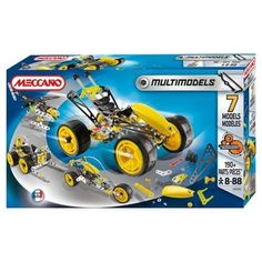 Fater and son play time. heirloom play set. Is never too early to start collecting. MECCANO Multi Model 7  #toys2learn #construction #meccano #earlylearning