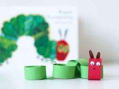 Knutselen met papier – 10 toffe maar simpele knutselideeën voor kinderen Eric Carle, Animal Crafts, Creative Kids, Spring Crafts, Book Crafts, Art Projects, Activities, Preschool Ideas, Craft Ideas